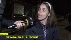 Un conductor de autobús de Madrid, a una mujer con discapacidad: