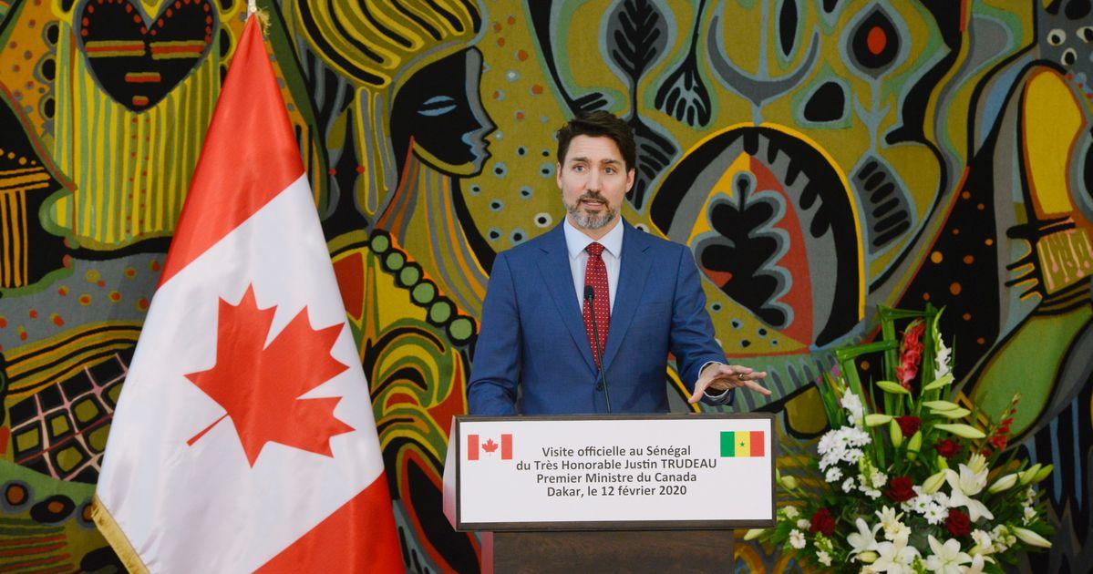 Trudeauは、沿岸警備隊のGasLinkパイプラインの抗議者の権利を支持していますが、法律は「尊重」されなければならないと述べています