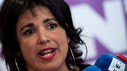 Teresa Rodríguez pacta con Iglesias su renuncia a liderar Podemos en