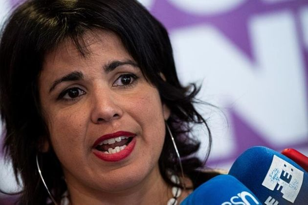 La líder de Podemos Andalucía y destacada dirigente de Anticapitalistas, Teresa Rodríguez. EFE/ Raúl