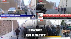 Pour la sortie de prison de Balkany, la course-poursuite en direct des chaînes