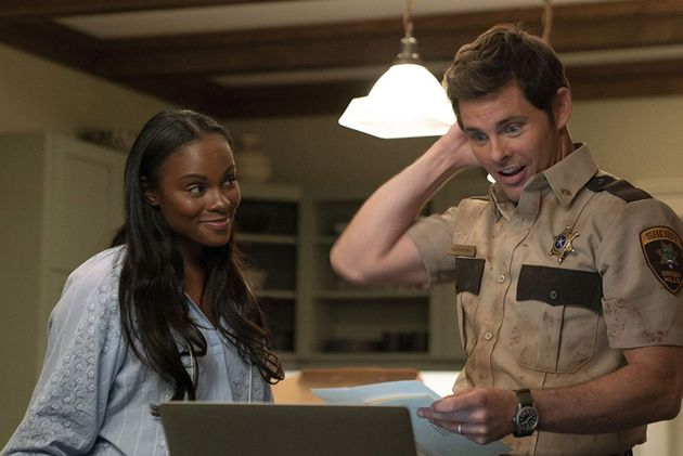 Tika Sumpter e James Marsden como Maddie e Tom