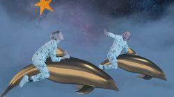 Angèle et Katerine volent à dos de dauphin dans le clip loufoque de
