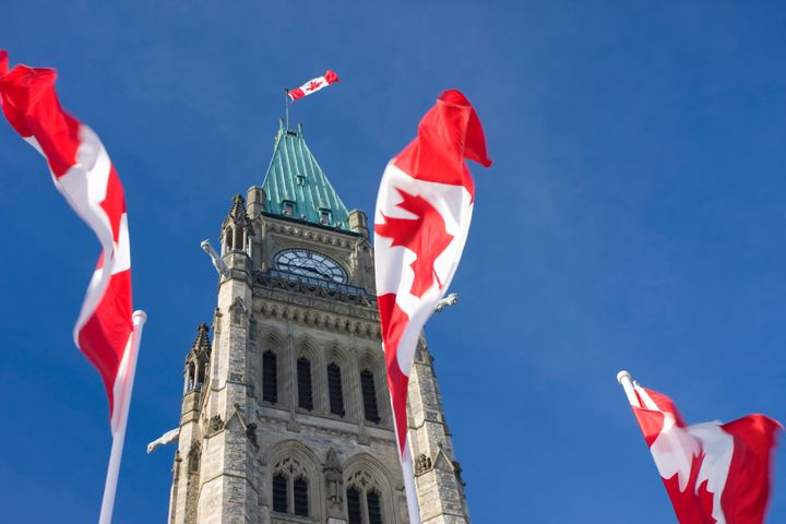 File image of Centre Block in on Parliament Hill.