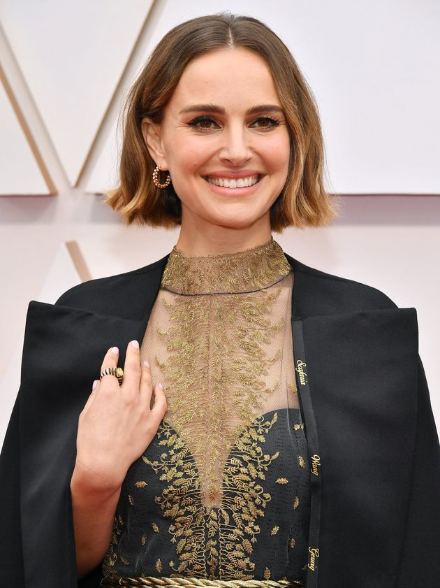 Natalie Portman attends the 92nd Annual Academy Awards at Hollywood and Highland on February 9, 2020,...
