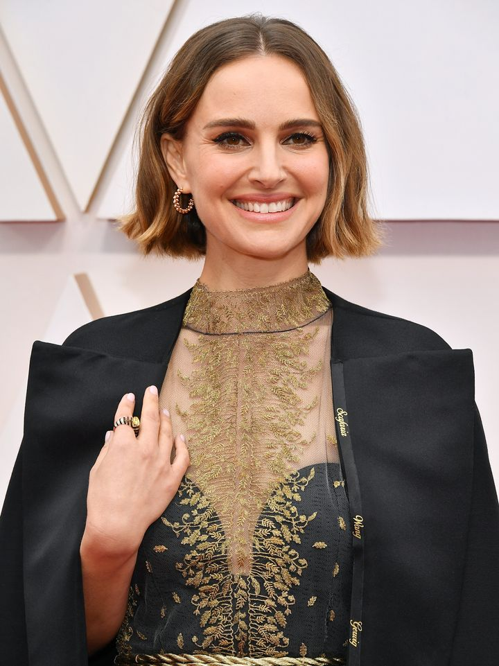 Natalie Portman attends the 92nd Annual Academy Awards at Hollywood and Highland on February 9, 2020, in Hollywood, Californi