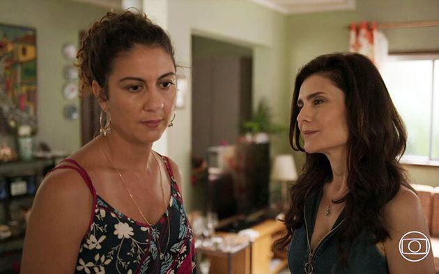 Clarissa Pinheiro (Penha) e Arietha Corrêa