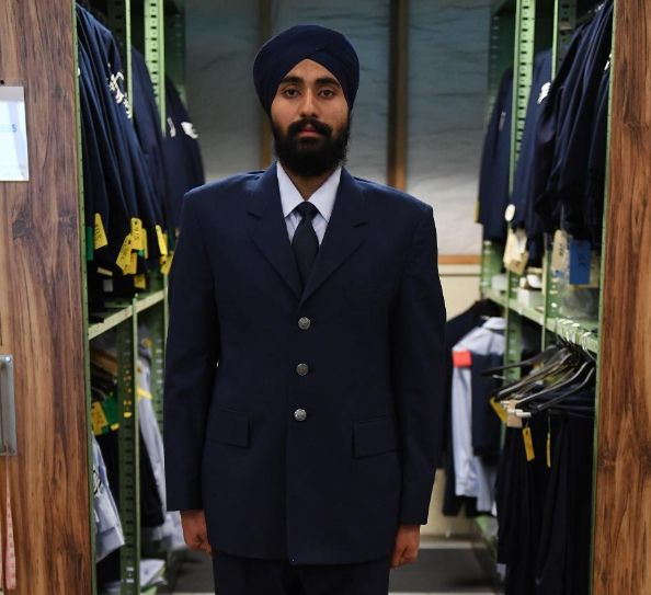 Gurchetan Singh said that he believes the Air Force's policy update will make it easier for...