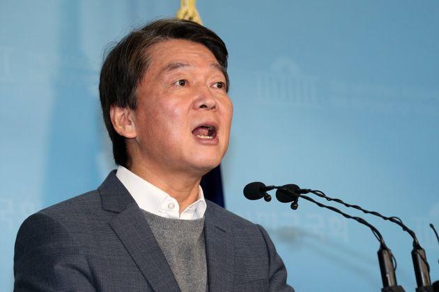 안철수 국민당(가칭) 창당준비위원장이 13일 오전 서울 여의도 국회 정론관에서 '공정과 정의를 바로 세우기 위한 혁신 방안'을 발표하고