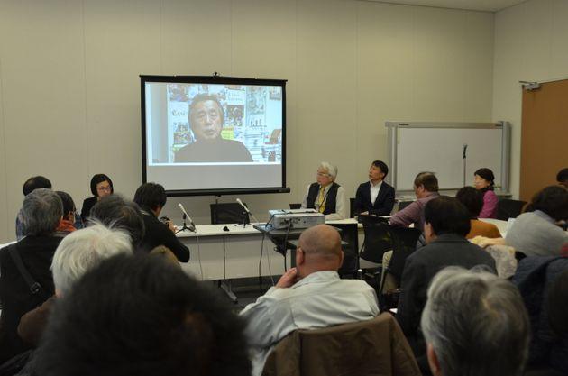 TBS系「報道特集」の金平茂紀キャスターが、ビデオメッセージを寄せた。
