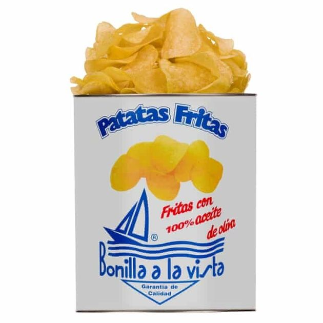 보닐라 감자칩. 원래 발음은 '보니야'이지만, 한국에서는 '보닐라'로