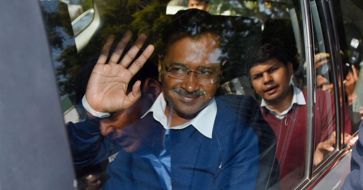The BJP Is At It Again. This Time, MLA Om Prakash Sharma Calls Kejriwal 'Terrorist Supporter'