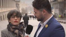 La sexual respuesta de Rufián cuando le preguntan por la relación entre PSOE y Unidas