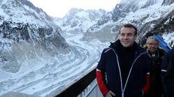 Au Mont-Blanc, Macron n'échappe pas au procès en