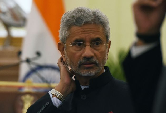 External Affairs Minister S Jaishankar at Hyderabad House, on February 8, 2020 in New