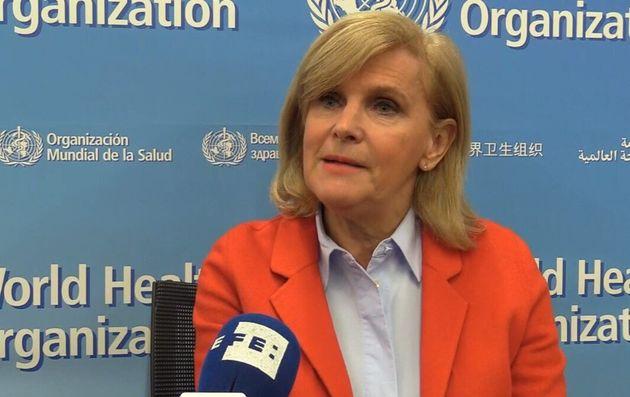 La directora del Departamento de Salud Pública y Medio Ambiente de la Organización Mundial de la Salud...