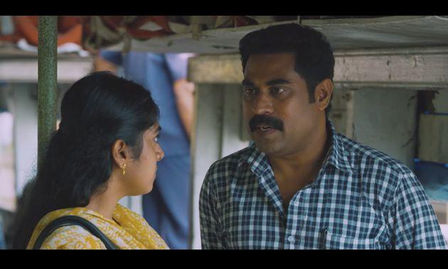 Suraj Venjaramoodu in a scene from Thondimuthalum