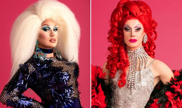 Drag Race UK finalists The Vivienne and Divina De