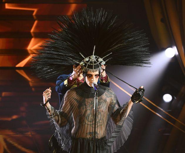 Marisela Federici, regina dei salotti romani che indossato per prima il copricapo di Lauro: