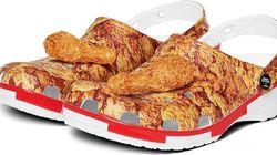Vous n'êtes pas prêts pour cette paire de Crocs KFC qui sentent le