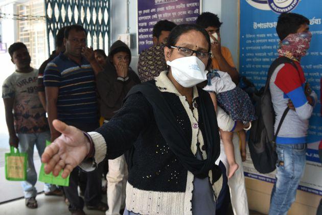 KOLKATA, INDIA - FEBRUARY 3: A view of the emergency ward of the Beleghata I.D. and B.G. Hospital where...