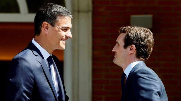 Sánchez cita a Casado en La Moncloa el próximo lunes al