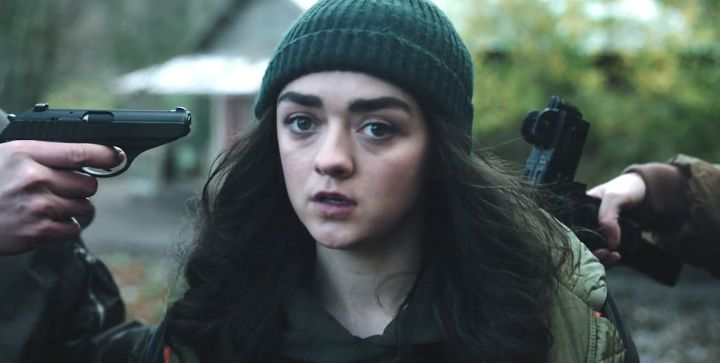 "The trailer for Maisie Williams' first TV project since ""Game of Thrones"" was released online Thursday."