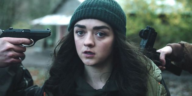 "Se lanzó el trailer del primer proyecto de TV de Maisie Williams desde"" Game of Thrones "". .."