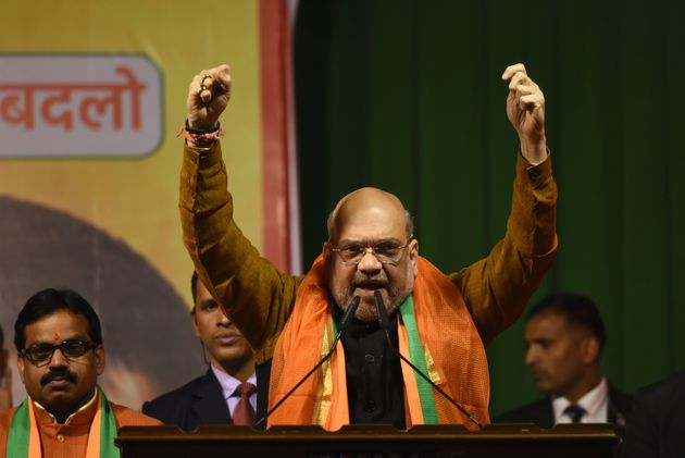 File image of Home Minister Amit