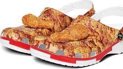 PFK et Crocs donnent naissance à une chaussure senteur