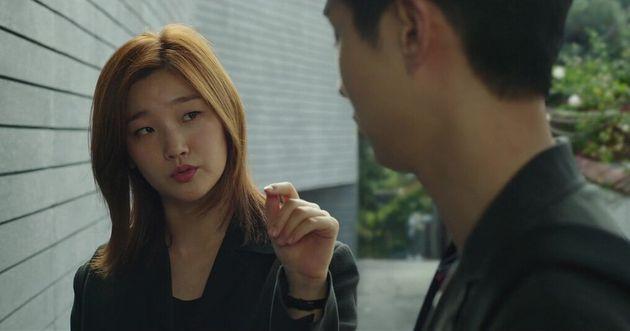 Os atoresSo-dam Park e Woo-sik Choi em cena de