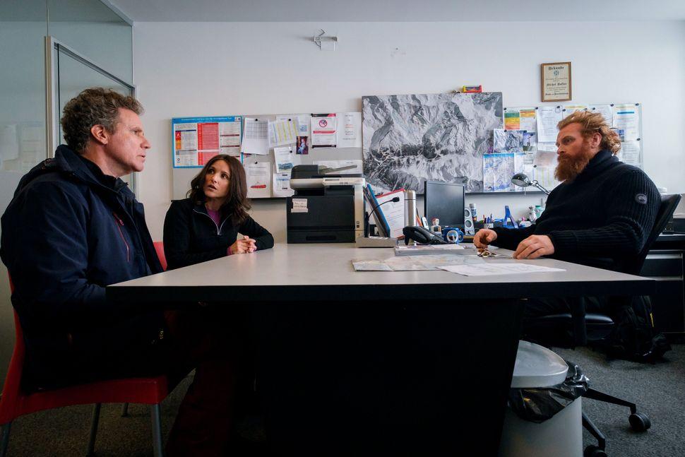 Will Ferrell, Julia Louie-Dreyfus e Kristofer Hivju em