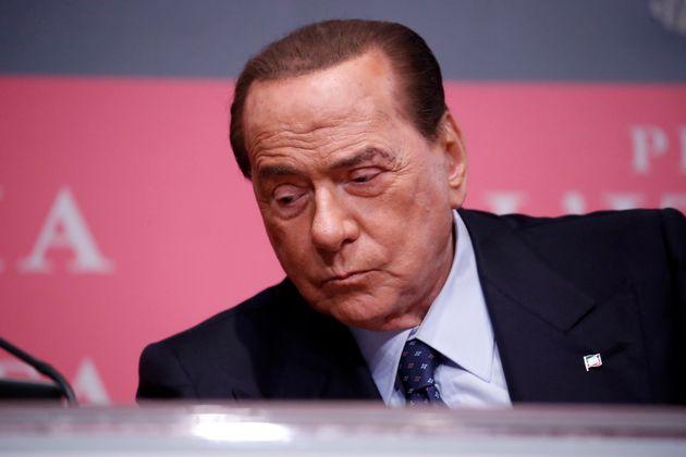 ROME, ITALY - DECEMBER 19: Senator Silvio Berlusconi attends at the presentation of Bruno Vespa's book...
