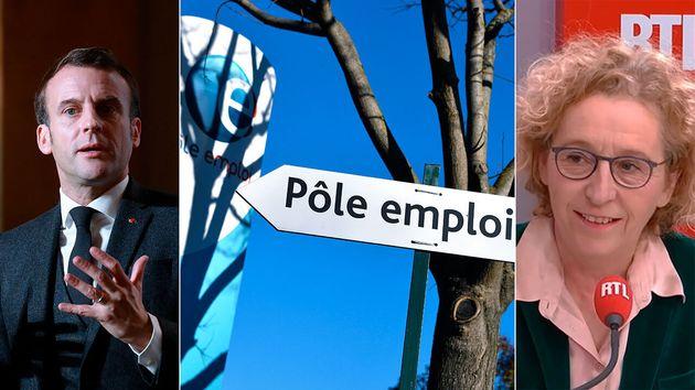 La ministre du Travail Muriel Pénicaud semble convaincue que l'objectif d'un taux de chômage de 7% présenté...