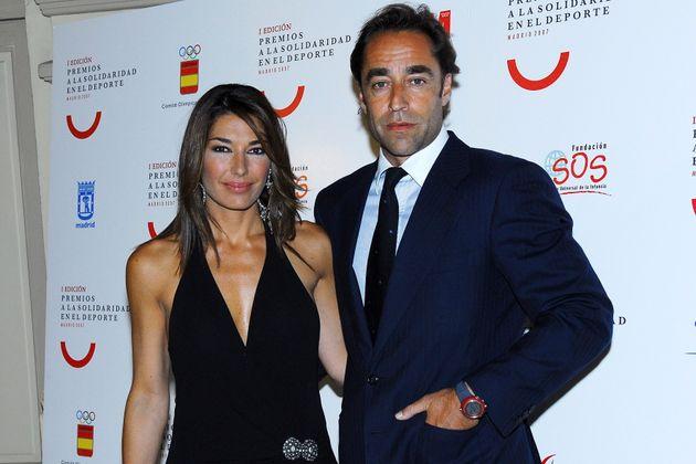 Miguel Ángel Jiménez y Raquel