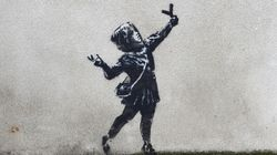 Banksy aurait-il offert cette œuvre à Bristol pour la