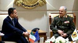 Di Maio in Libia incontra Haftar: