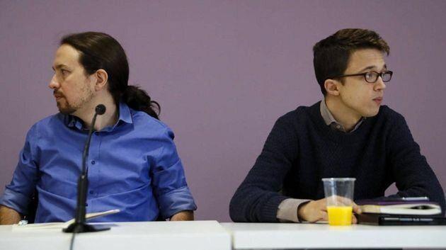 Pablo Iglesias (izq) e Íñigo Errejón en una imagen de