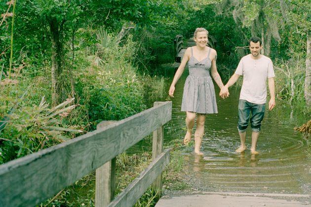 Dan et moi à la réserve naturelle de