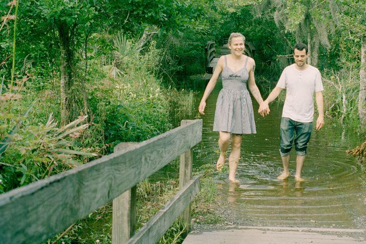 Dan et moi à la réserve naturelle de Barataria