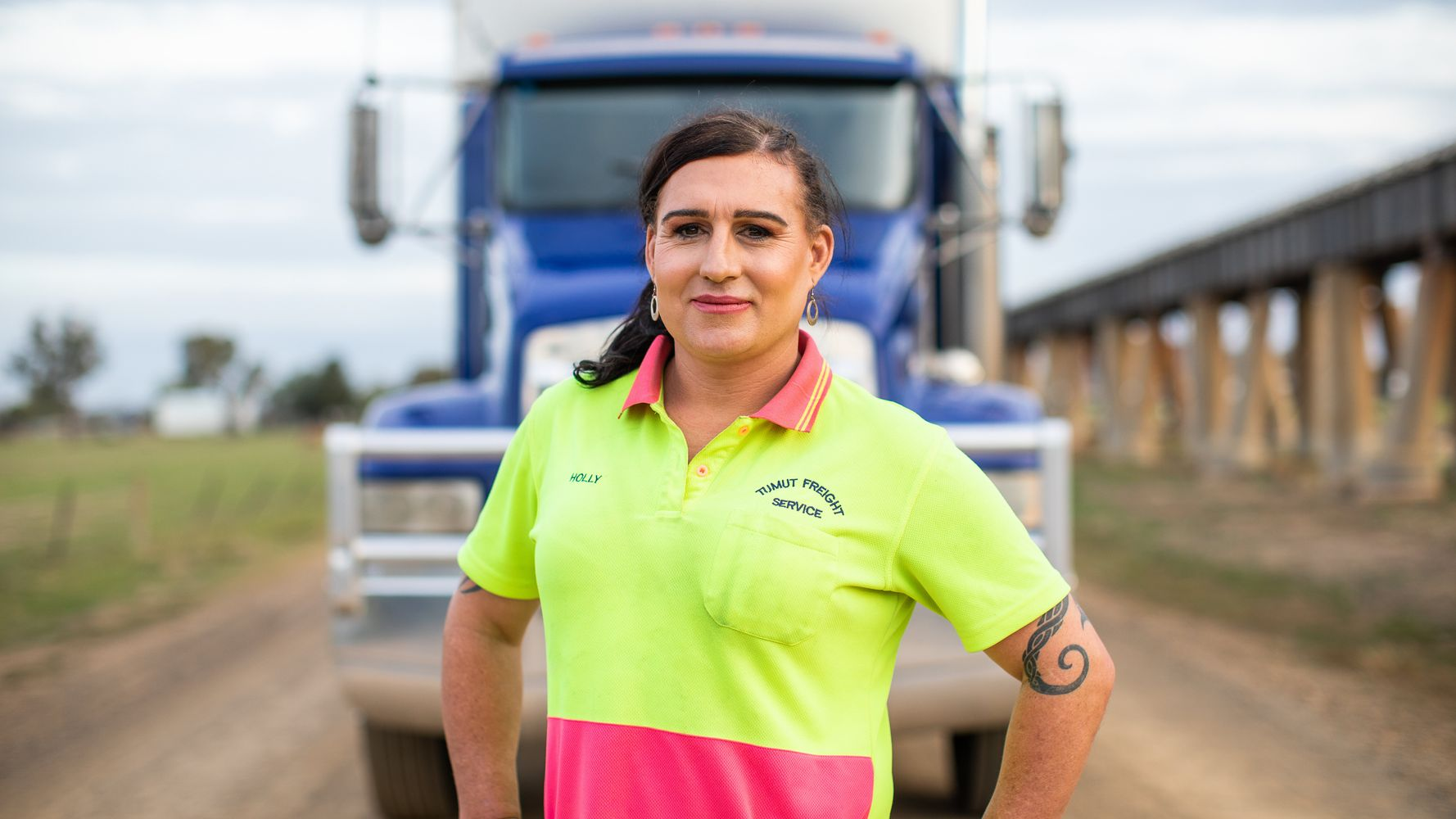 HuffPost Her Stories: This Truck Driver Transformed Her Town's LGBTQ Biases