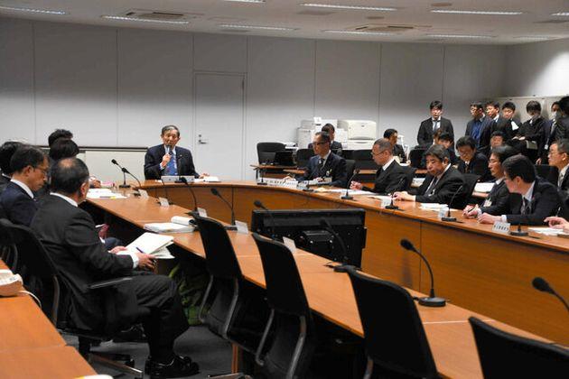 新型コロナウイルスの感染者が確認されたことを受け、和歌山県は対策本部を設置した=2020年2月13日、和歌山県庁、山田知英撮影