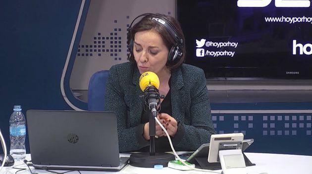 La periodista Pepa