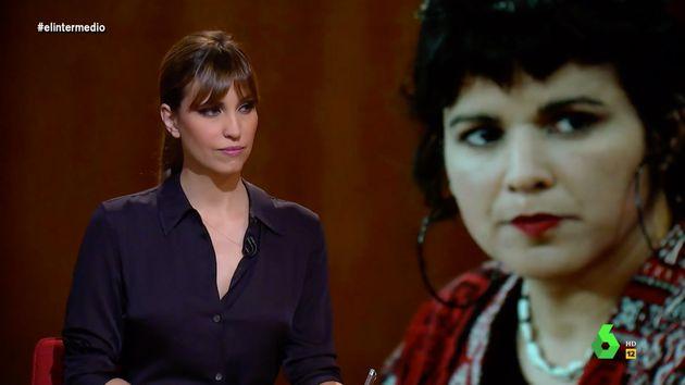La presentadora de El Intermedio Sandra