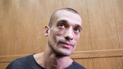 L'artiste russe Piotr Pavlenski revendique la diffusion des vidéos impliquant