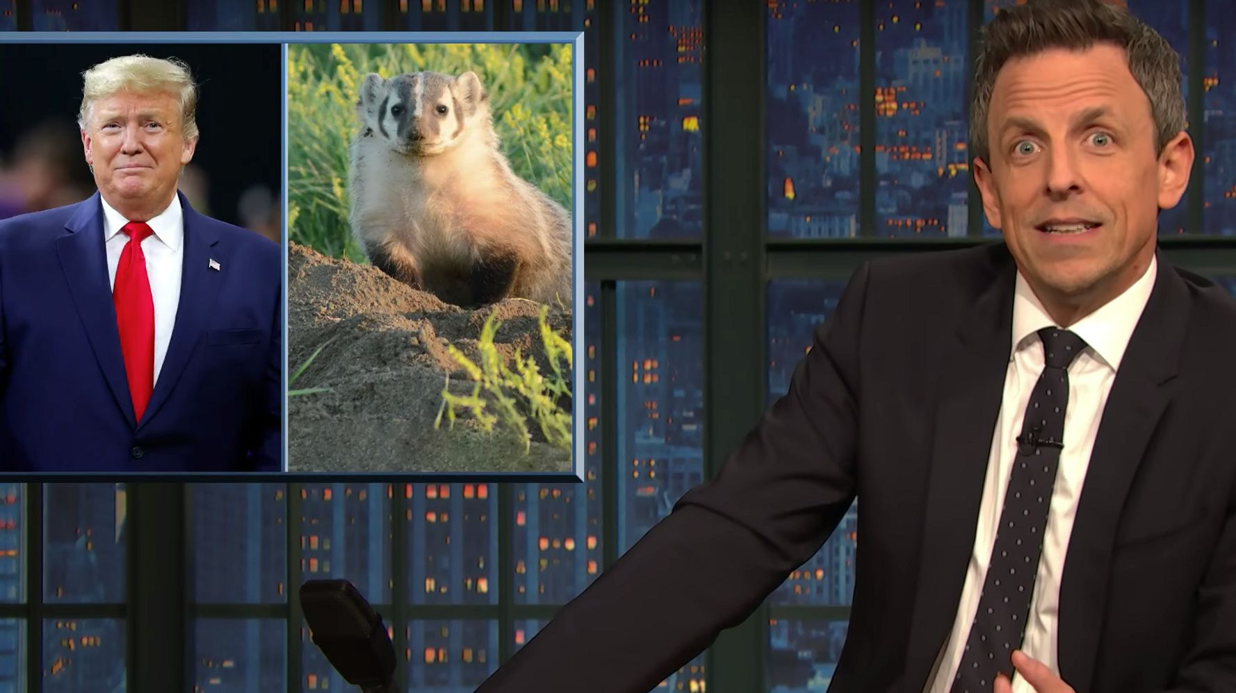 Westlake Legal Group 5e4671d72100005300581a82 Seth Meyers Baits Trump Over His 'Dumbest' Obsession Yet
