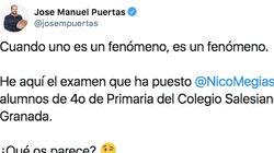 Un profesor de matemáticas de Granada triunfa con el examen que puso a sus alumnos de 4º de