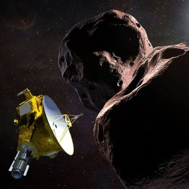 Arrokoth se situe à plus de 6,6 milliards de km de notre planète. Ce qui fait e lui l'objet...
