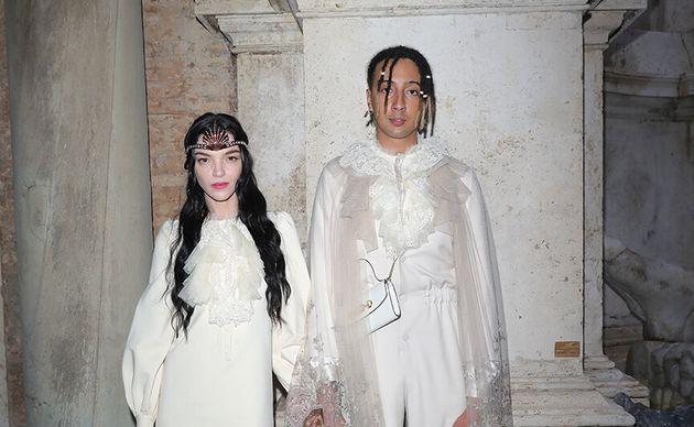 Ghali con la compagnaMariacarla
