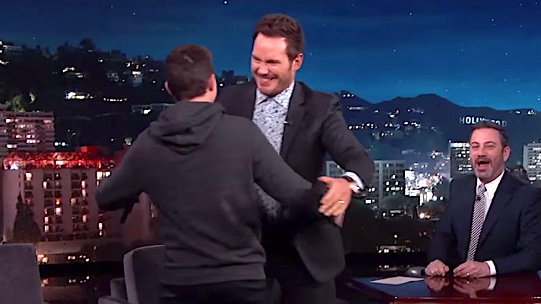 Chris Pratt Burns Tom Holland In Audience Q&A On 'Jimmy Kimmel'